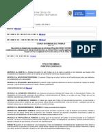 Código Sustantivo Del Trabajo - Ministerio Del Trabajo