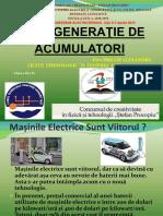 Noua Generatie de Acumulatori