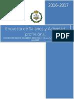 Encuesta Salarios Ingenieros Industriales 2016 2017