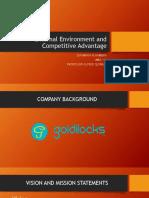 Goldilocks corporate analysis