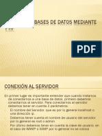 4Conexión a Bases Mediante PHP