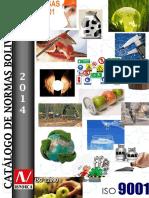 CATALOGO DE NORMAS BOLIVIANAS _ Septiembre 2014.pdf