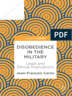 Jean-François Caron - Disobedience in the Military-Springer International Publishing_Palgrave Pivot (2019)