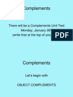 Complements PowerPoint 2014