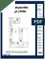 Planos Ciegos y Sordos Evacuacion - Braille A1 4-4