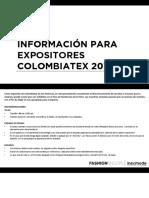 Tendencias Primavera Verano Expositores Coltex 2019