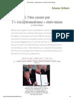 L'Onu cassée par l'« exceptionnalisme » états-unien, par Thierry Meyssan.pdf