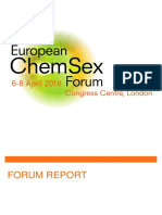 European ChemSex Forum Report