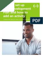 CPD Dev Plan Set Up Brochure