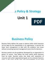 UNIT 1 - BPS