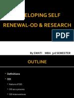 Developing Self Renewal-od & Research