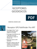 RECEPTORES GEODESICOS