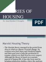 Theories of Housing & Housing Typologies