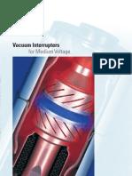 Vacuum Interrupters for Medium Voltage