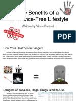 substance-free lifestyle psa