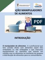 SLIDE CAPACITAÇÃO MERENDEIRAS