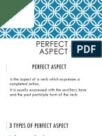 Perfect Aspect