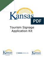 Kansas Tourism Signage Program