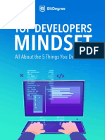 For Developers Mindset