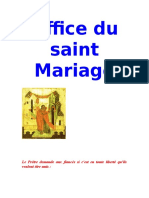 Office du saint Mariage.doc