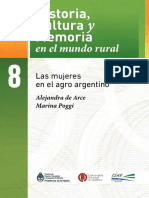 Las mujeres en el agro argentino.