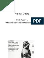 Helical Gears - Robert L Mott