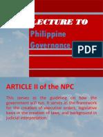 ARTICLE 2 - 1987 CONSTITUTION