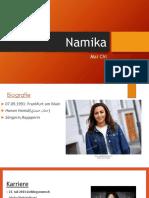 Présentation:Namika