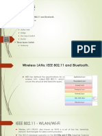 IEEE 802.11 and Bluetooth