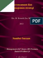 Kuliah ke 4 Pengantar Manajemen Teori Manajemen Perencanaan dan Strategi.ppt