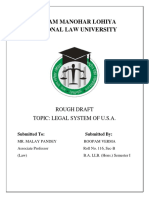 WLS- Semester-I (Rough Draft) Legal System Of USA.docx