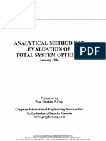 Analitical Methods for Evaluation of Total System Options - TtlSysOp