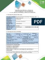 Guía de actividades y rubrica de evaluación - Momento 3 - Tarea 2. Calcular coordenadas PI y análisis levantamientos topográficos (1).docx
