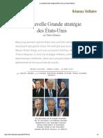 La nouvelle Grande stratégie des États-Unis, par Thierry Meyssan