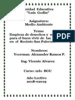 PROYECTO  DE   MEDIO  AMBIENTE  yoorman.docx