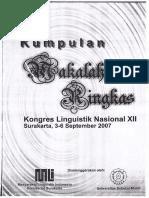 KLN XII Metode Strategi Dan Teknik Penerjemahan