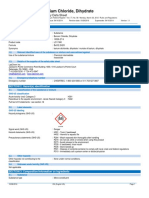 Msds BaCl2.2H2O