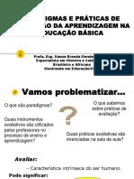 Slide Aula - Paradigmas e Práticas de Avaliação