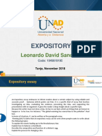 Expository Essay - Leonardo David Sanchez Silva 21