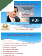 Vikram Sarabhai Memorial Lecture