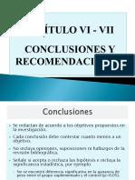 Capítulo v - Conclusiones y Recomendaciones