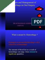 hemorrageinoralsurgery-130421032742-phpapp02