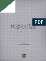 Livro Enciclopedia Tematica Da Biblia