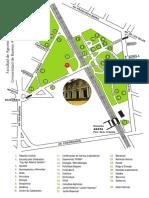 Mapa de la facultad e Agronomia