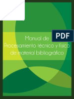 Manual de procesamiento técnico