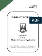 Mcasem1&2(Cbsgs)Syllabus