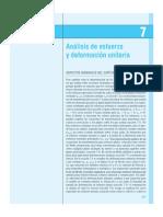 CAP 7 - ANALISIS DE ESFUERZO Y DEFORMACION UNITARIA.pdf