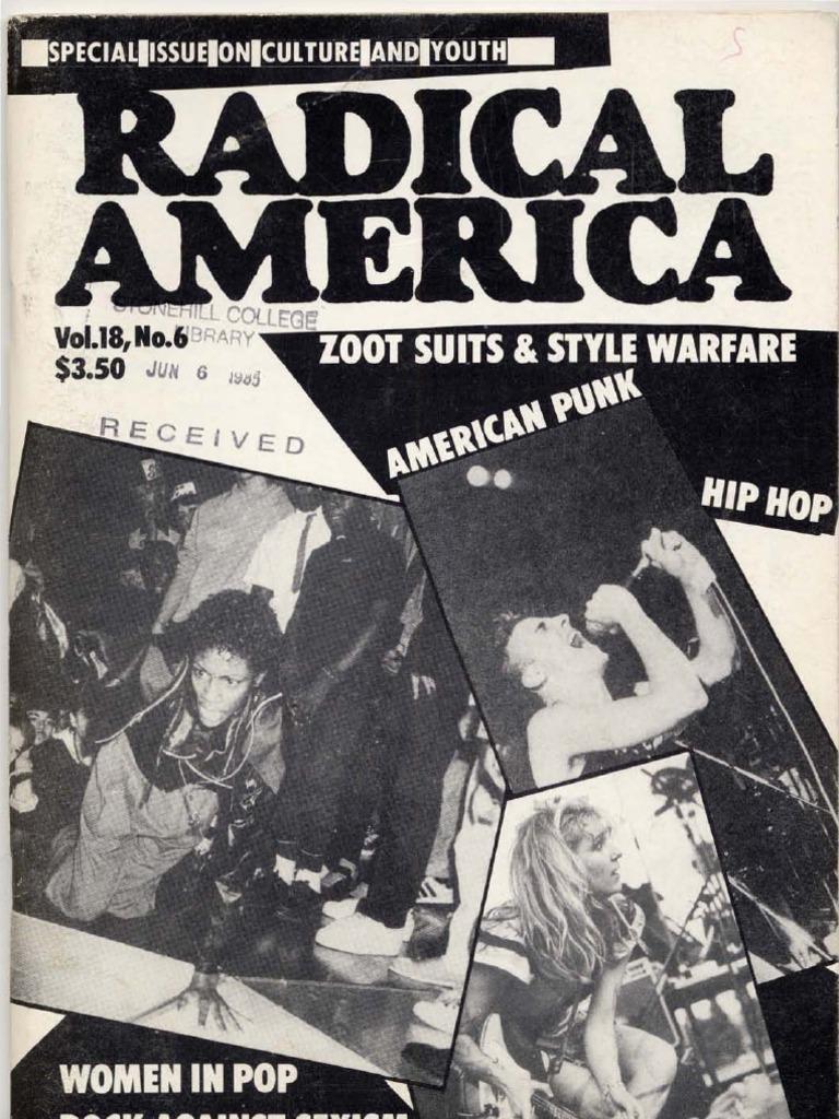 Radical America - Vol 18 No 6 - 1984 - November December  e2de6d4f3
