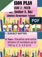 SMEP Lesson Plan -Justine A. Raz