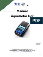 Manual AquaColor Cor Versão 3.23B 06-2014